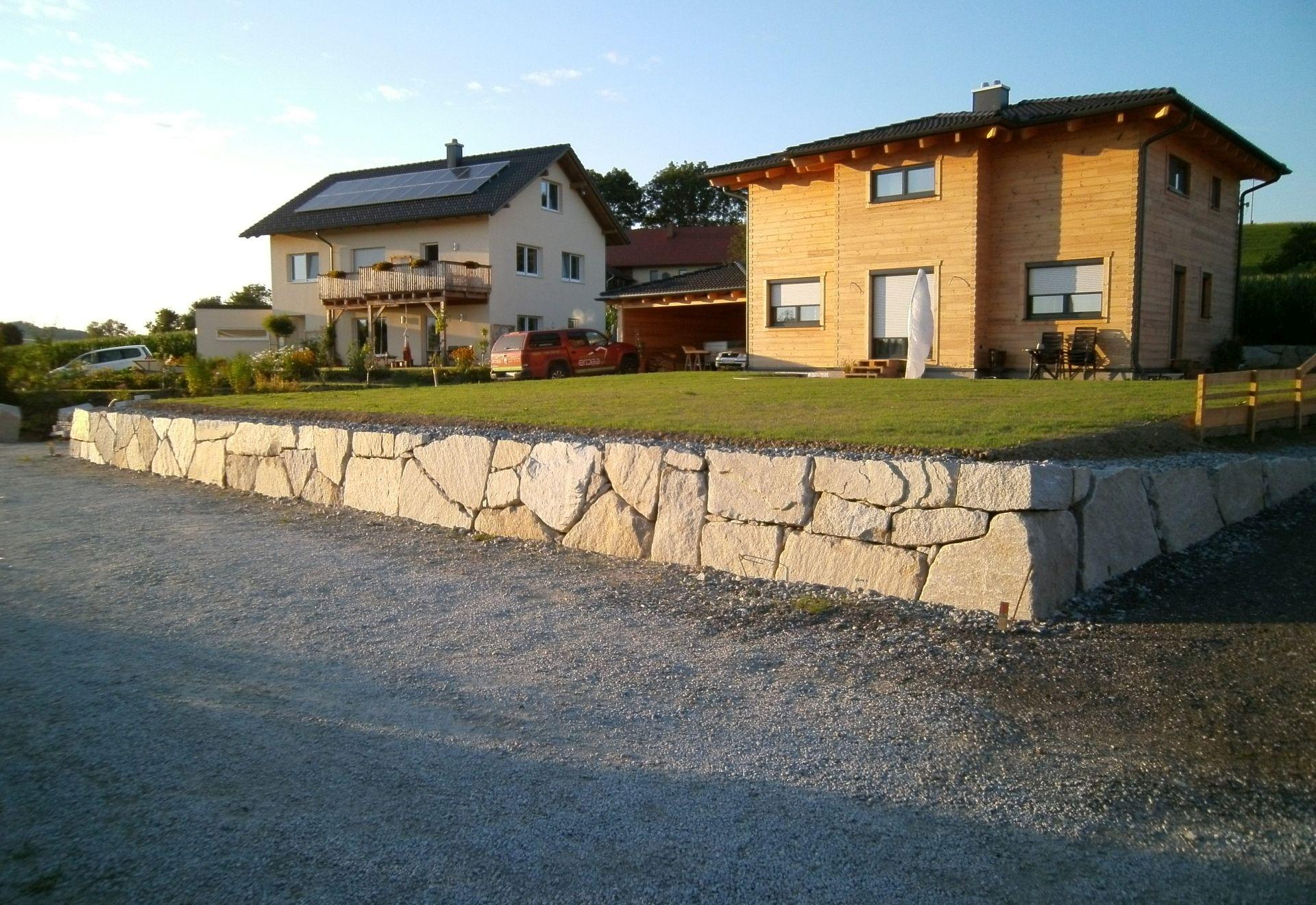 Slider-Wurfsteinmauer